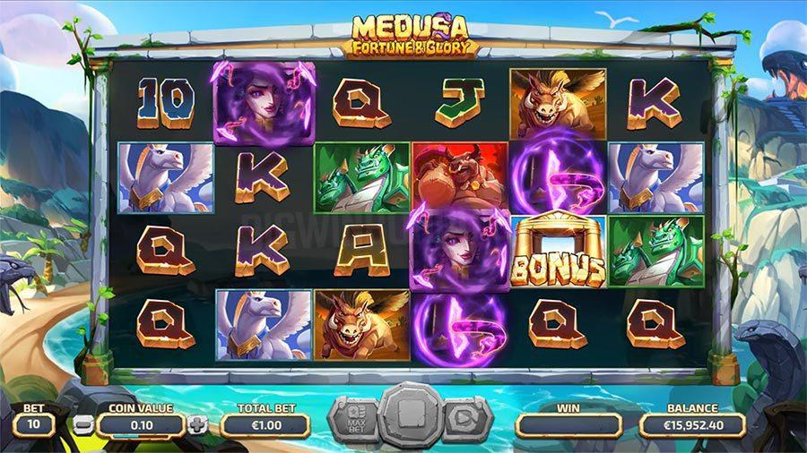 Medusa : Fortune & Glory, Yggdrasil