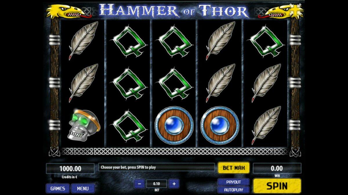 Hammer of Thor tom horn